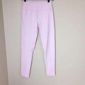 Light pink gym shark leggings